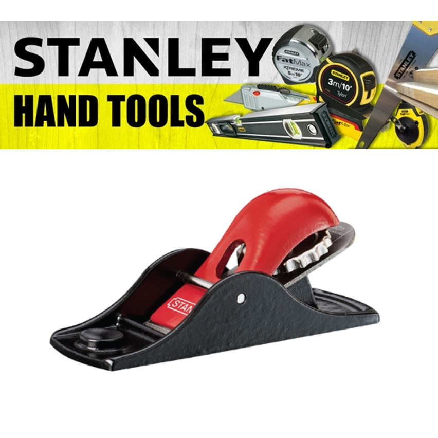STANLEY BLOCK PLANE 12-102 PAINTING FINISHING TOOLS 140MM 5-1/2 INCH CUTTER 35MM 1-3/8'' INCH