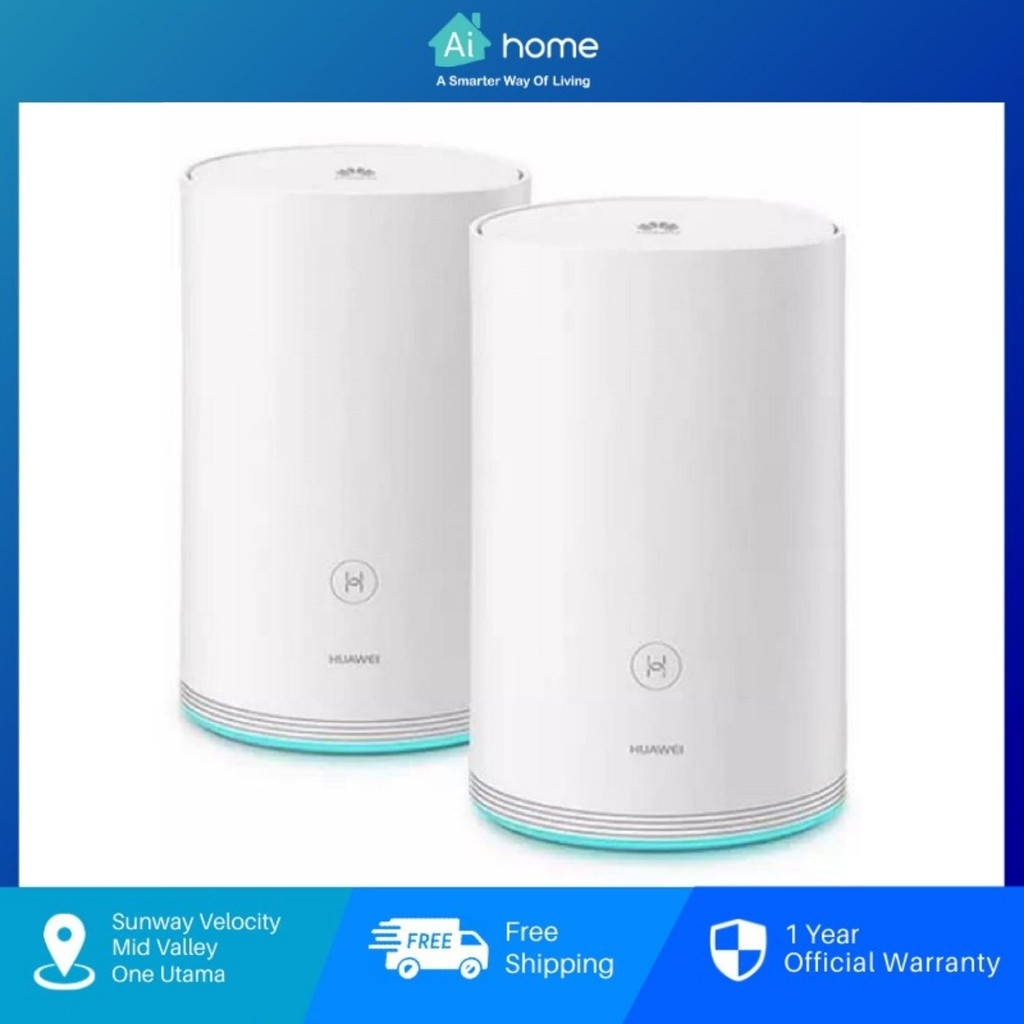 HUAWEI Q2 Mesh Wi-Fi Router - Whole Home Powerline Communication | Hybrid Router System | Stronger Extender