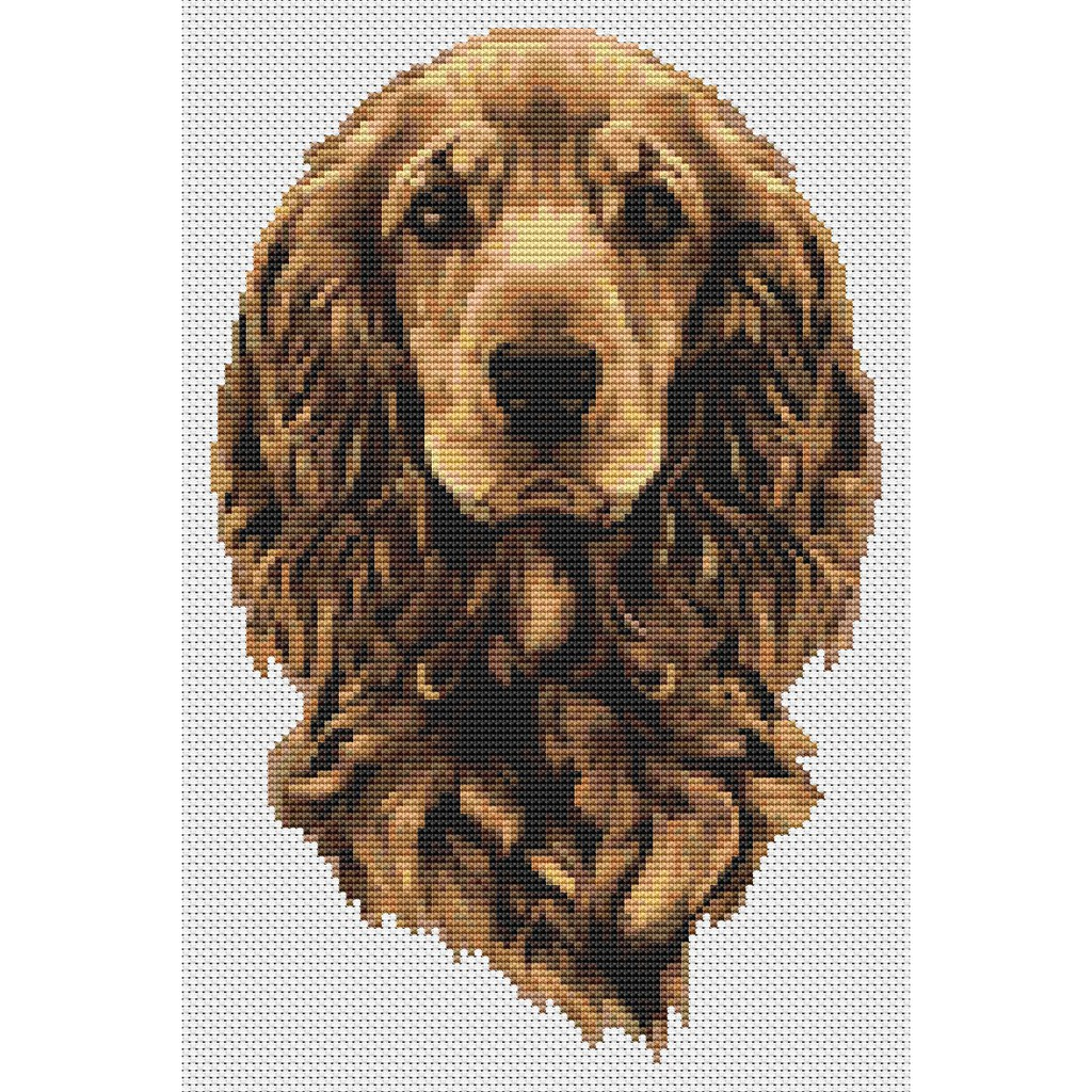 DIY 5D Diamond Embroidery Little Dog Painting Cross Stitch Art Craft Home Dec HL