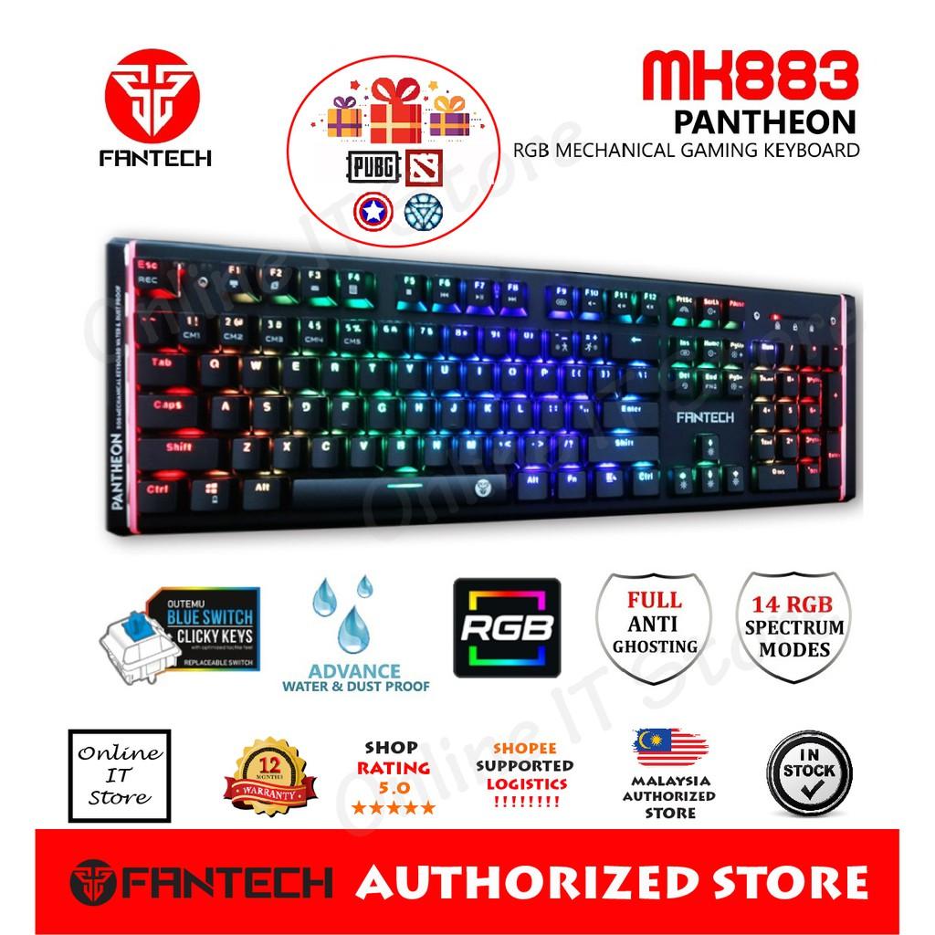 FANTECH PANTHEON MK883 RGB Mechanical Keyboard