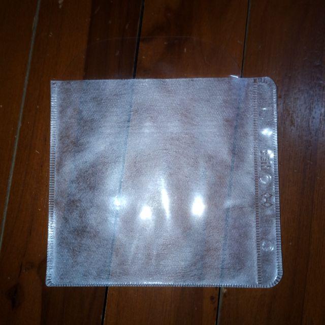 Cover Plastic CD/DVD Case Casing (2 side)