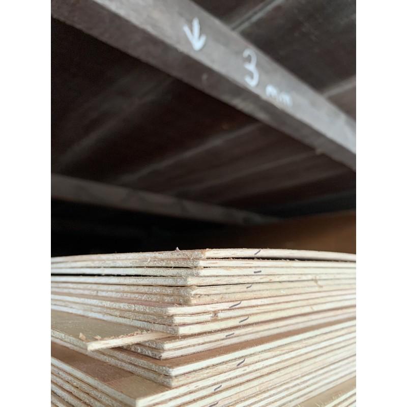 Papan Plywood Timber Panel Wood Board Sheet Papan Kayu - 3mm 5mm 9mm 12mm