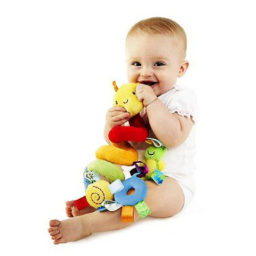 Baby Toddler Multicolor Bed Crib Hanging Animal Plush Ornaments/Toy