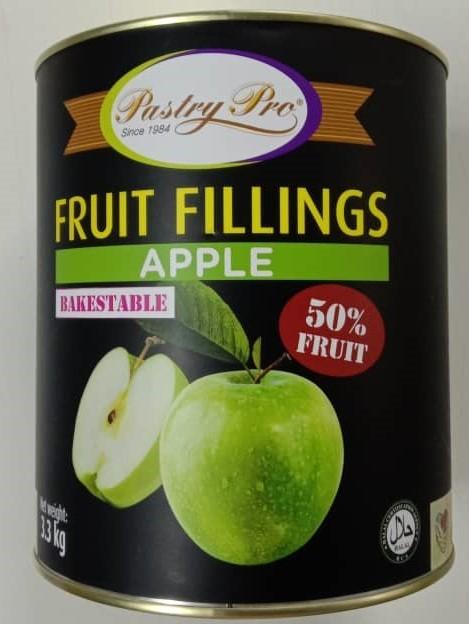 PastryPro Fruit Fillings Apple 50% Fruit (3.3kg)