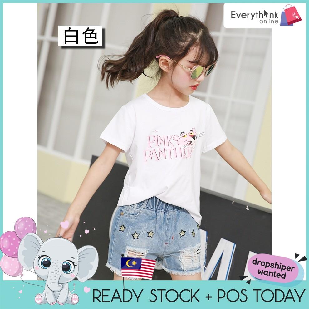 *NEW* [FREE GIFT] EVON PREMIUM MACHISTRAGECAT COTTON COMFY FASHION LITTLE GIRL TSHIRTS CHILDREN SHIRT BABY TSHIRT KID