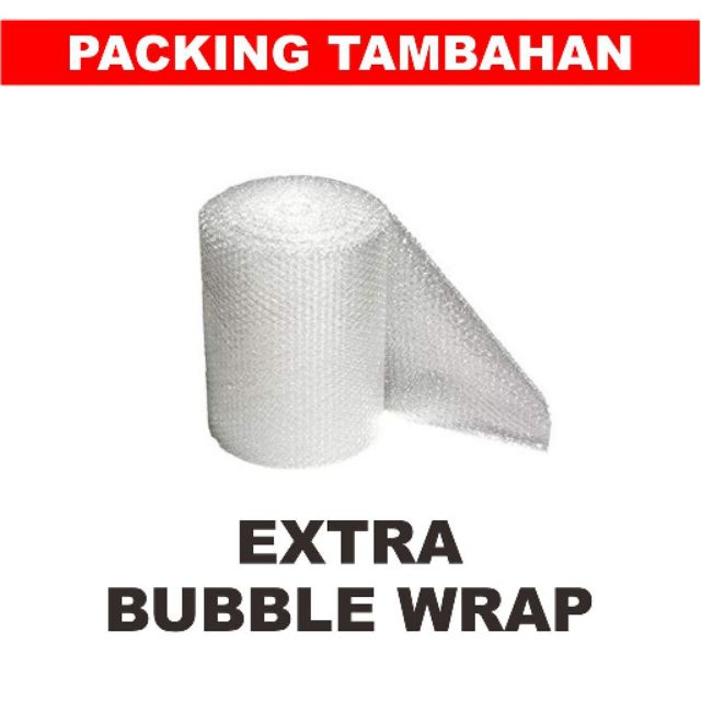 **[ADD-ON]** BUBBLE WRAP SERVICE. Bubble Wrap for Extra Protection