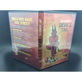 Devils Tail By Jay Sankey Gimmicks DVD String Rope Magic Tricks