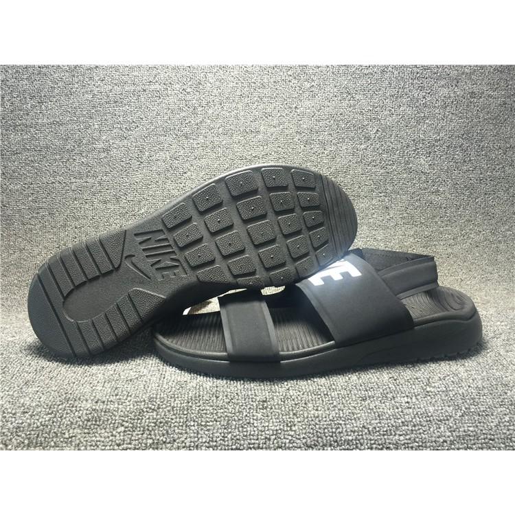 d5e7c50ca2b7 ... discount code for original nike tanjun sandal black slippers men and  womens shoes 36 44 shopee