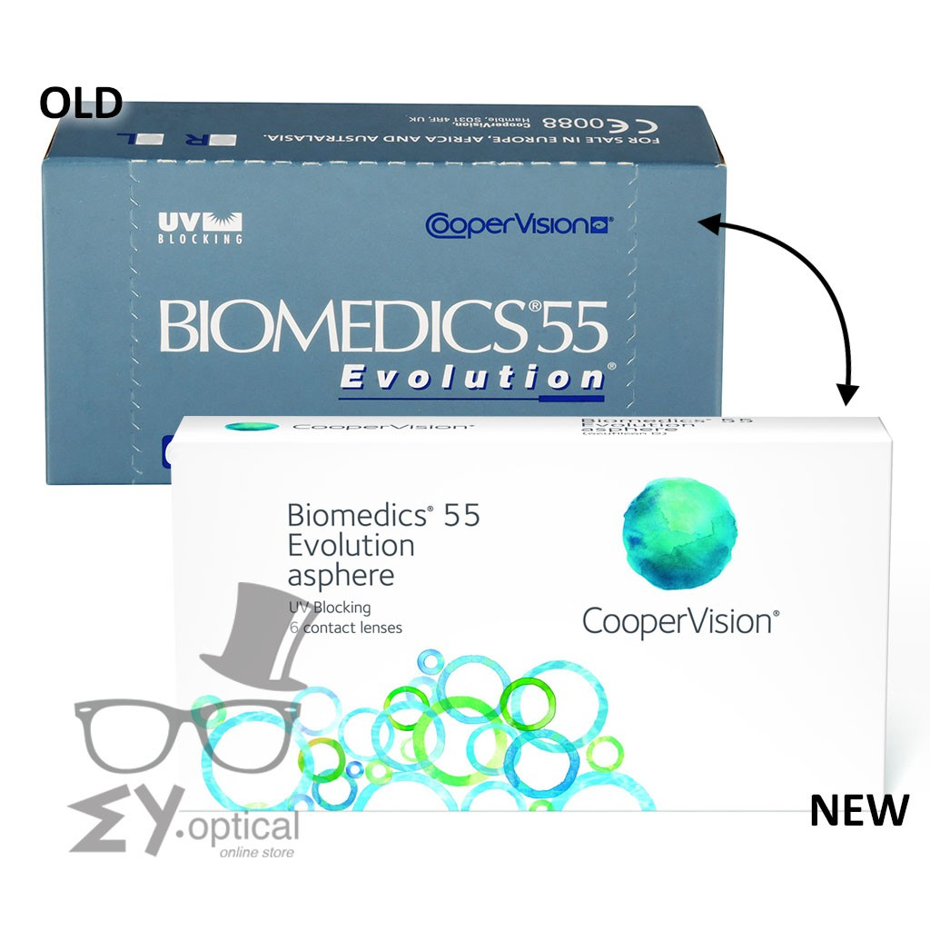 Coopervision Biomedics 55 Evolution - Monthly   Shopee Malaysia 7a50e11e8ac7