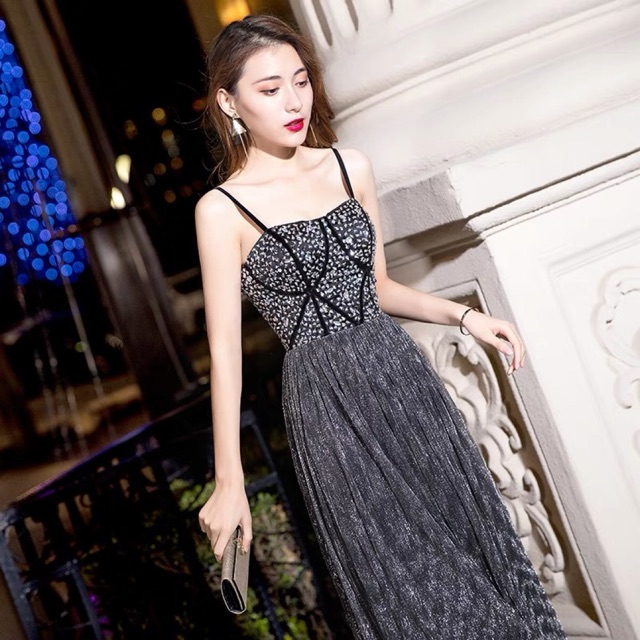 e52db40ddd Long annual meeting temperament party reception noble ladies dress