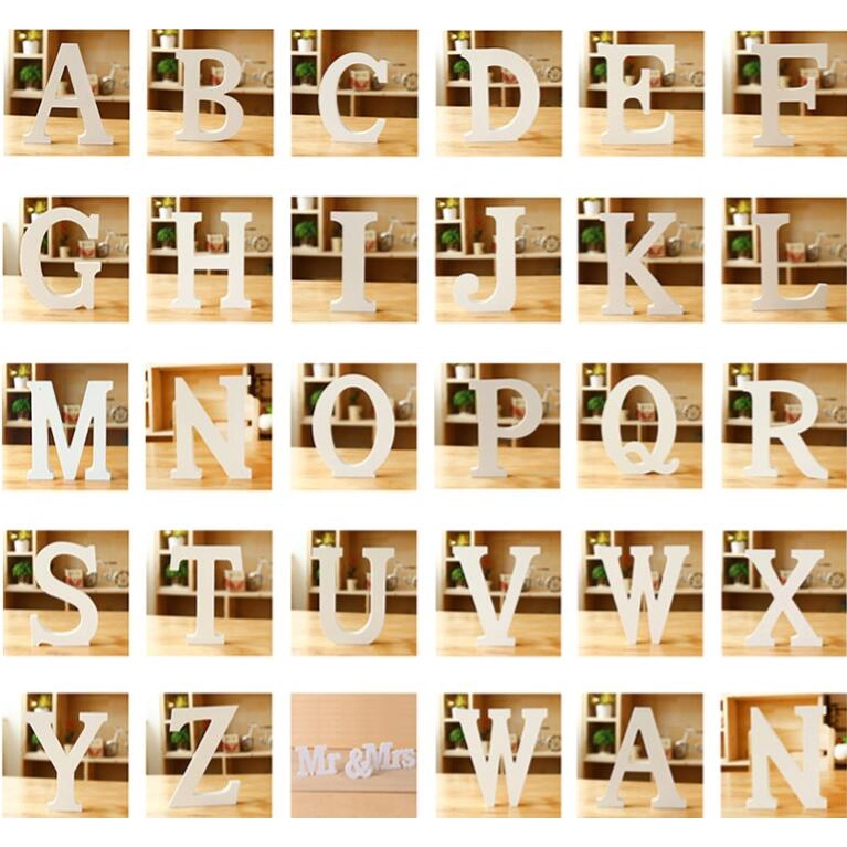 Maison Wood Wooden Letter Happy Birthday Letters Alphabet
