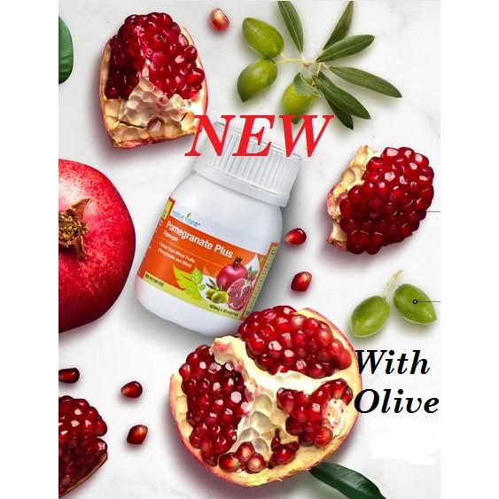 *NEW 30 Vcaps*Tupperware NaturCare Pomegranate Plus Olive 30 Vcaps