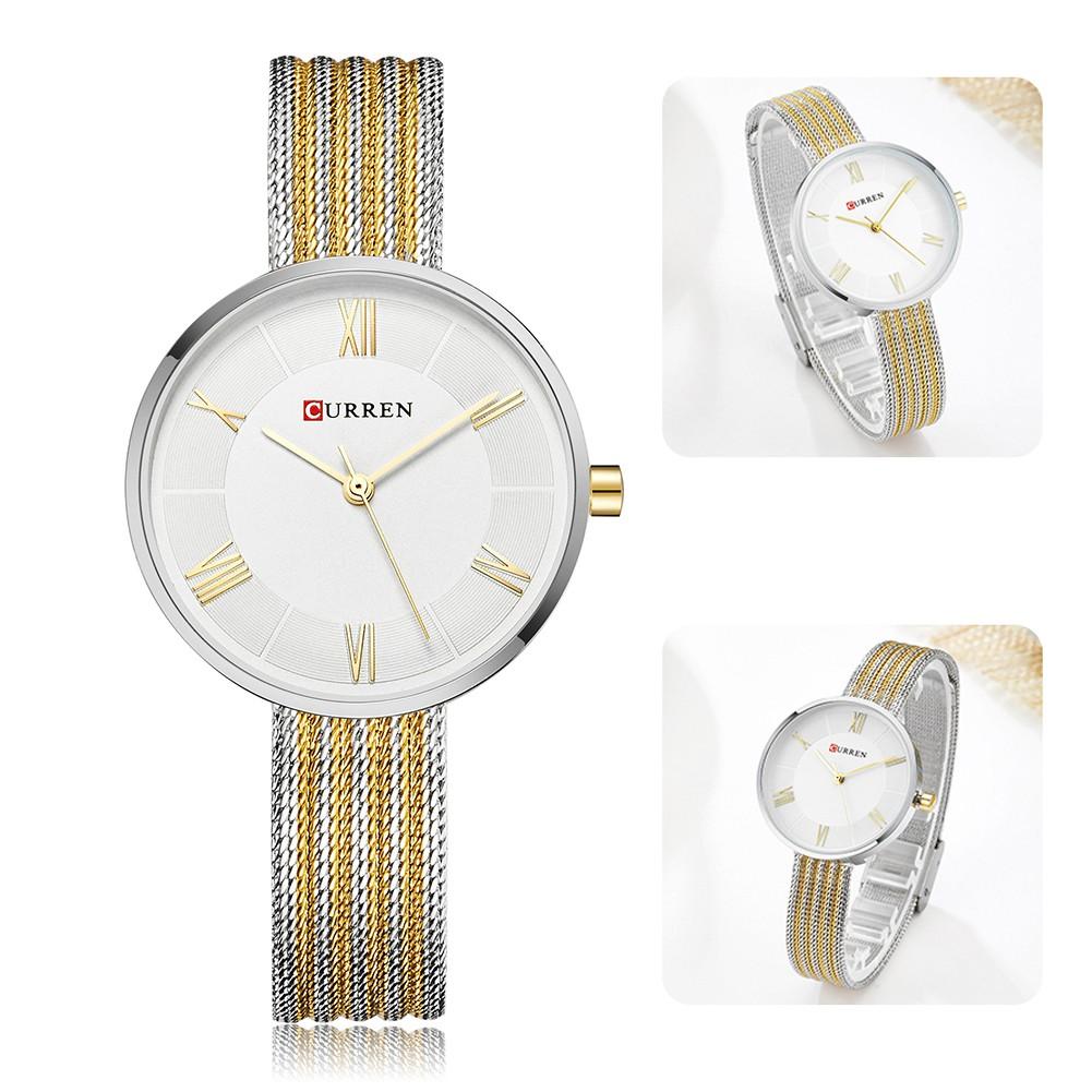 CURREN 9020 Women Watch Top Brand Luxury Fashion Quartz Watch ...