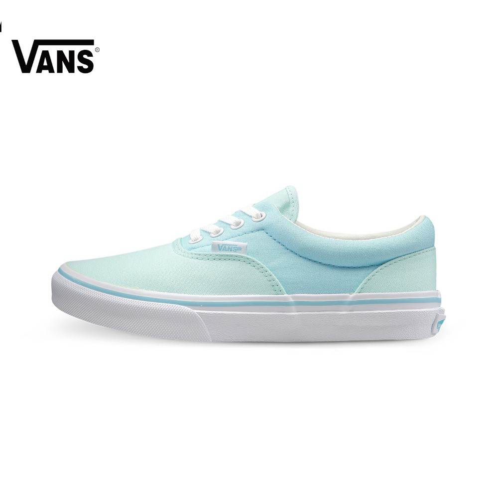 Original Vans Blue and Green Women s Skateboarding Shoes Era Canvas Shoes  a0f580b35c73