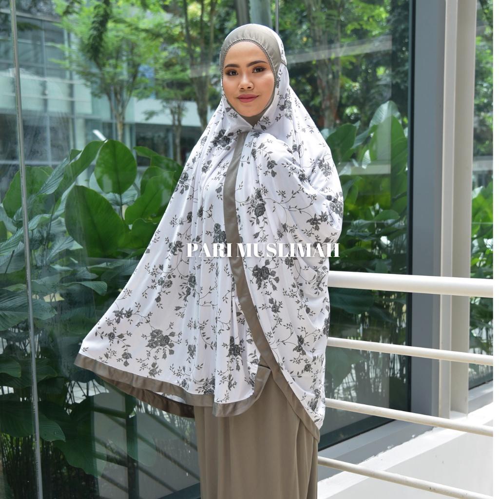 Telekung Corak Bunga/ Telekung Siti Aisyah/ Telekung Zura Rose/ Telekung Viscose Cotton