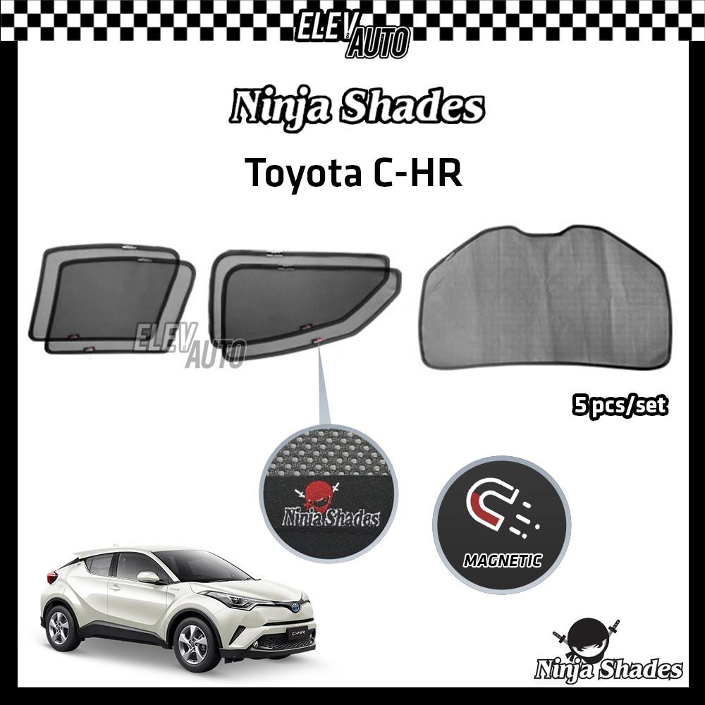 Toyota C-HR CHR Ninja Shades OEM Magnetic Sunshade