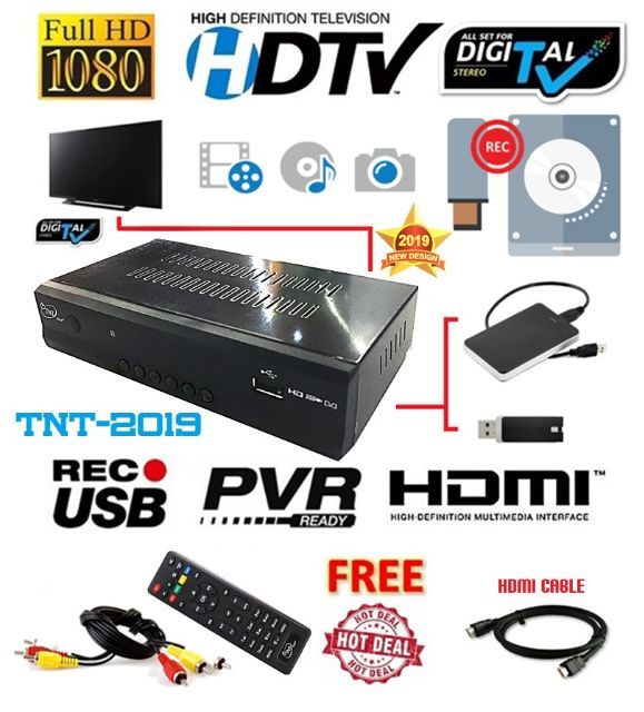 HDTV FREEVIEW DIGITAL TV CHANNEL RECEIVER & PVR RECORDER TVBOX aerial  myfreeview mytv usable