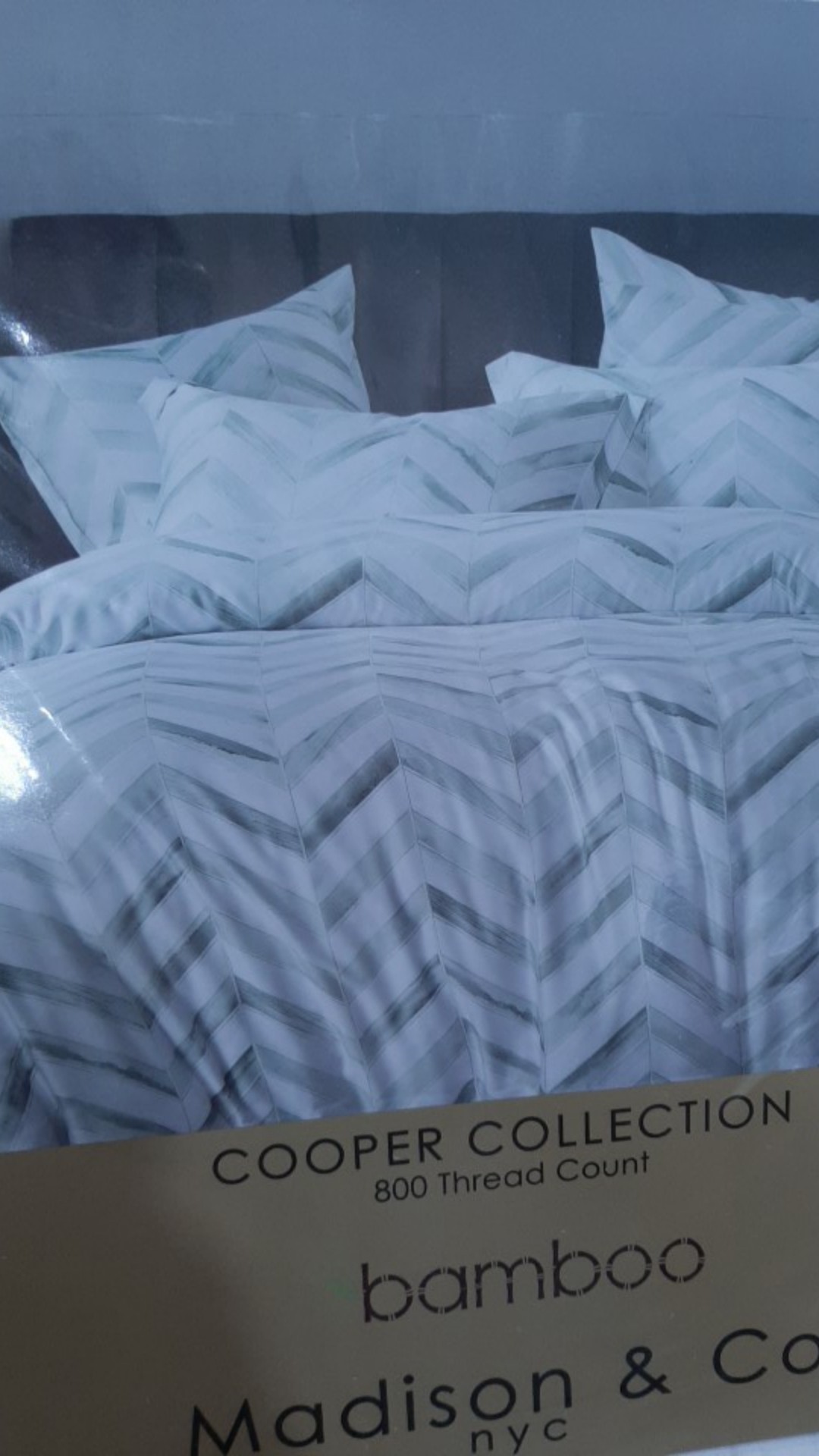 Madison Co Cooper Fitted Sheet Set 800tc Super Single Queen King Super King Shopee Malaysia