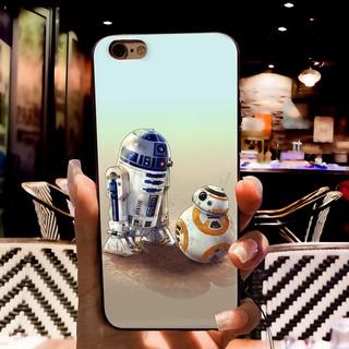 star wars R2D2 darth vader phone case iPhone X 8 7 6S Plus 5S