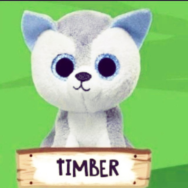 Mcdonald ty beanie boo zoo boos toy timber  dc0a094167e