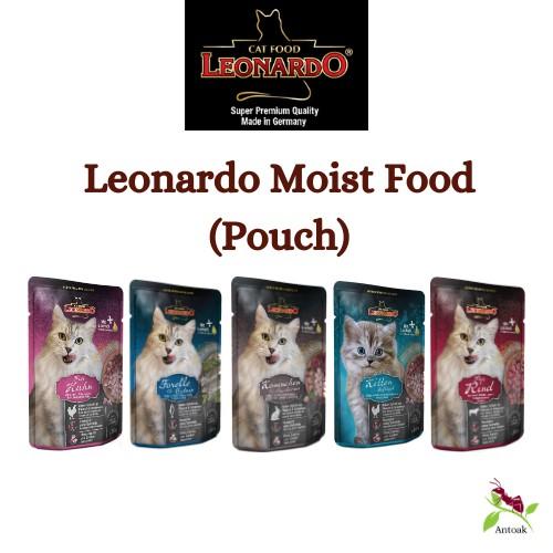 Leonardo Cat Moist Food 85G (Pouch) Assorted Flavour