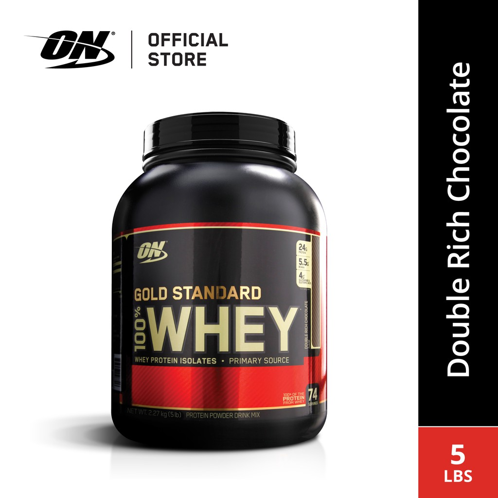[FREE BSN WATER BOTTLE] Optimum Nutrition Gold Standard Whey (5 lbs)