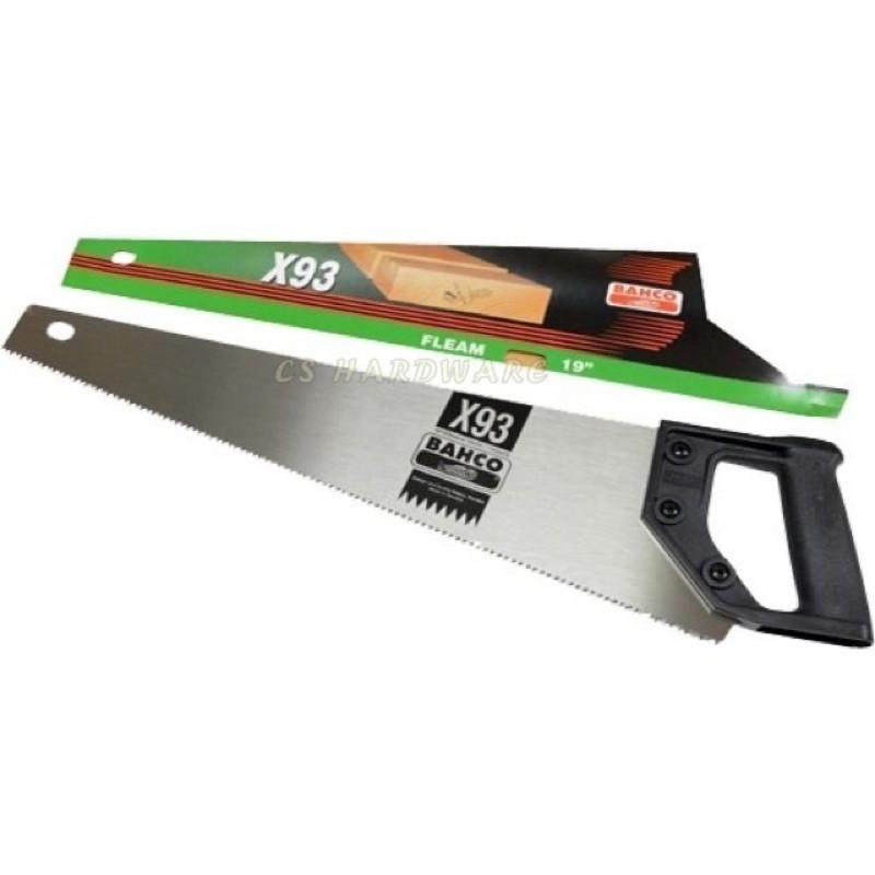 """[100%ORIGINAL] BAHCO 19"""" X93 XT Superior Wood Hand Saw / Gergaji Kayu Tangan"""