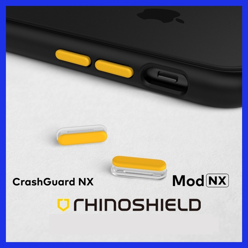 Rhinoshield Extras Buttons For Iphone X Xs Xr Max Mod Nx Solidsuit Iphone 11 11 Pro 11 Pro Max Shopee Malaysia