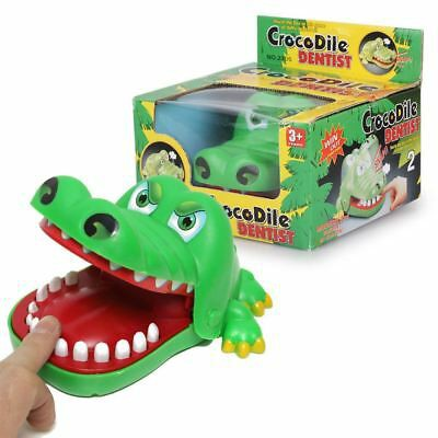 Funny Big Crocodile Jaw Tooth Finger Bite Toy Family Game For Kids Gifts.game buaya,