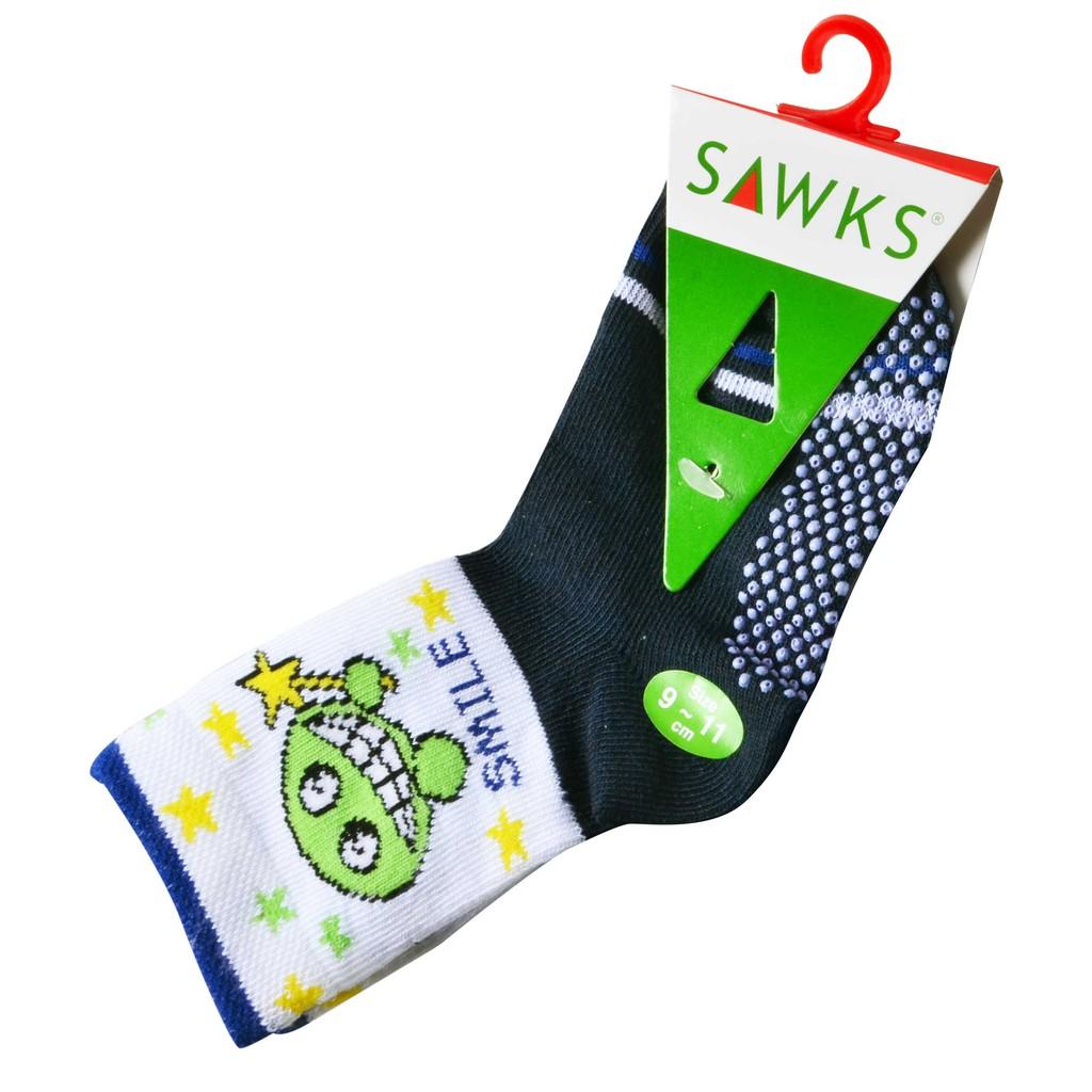 Baby Socks Anti Slip Boy Girl Cotton Newborn Infant Toddler Kids Soft - Smile Design