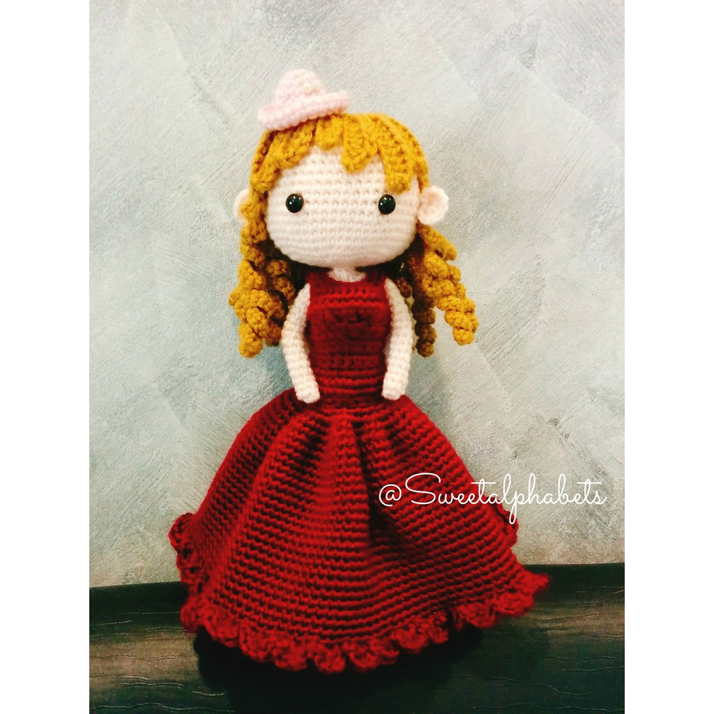 AChiBuu Handmade: Traditional Chinese Wedding Amigurumi | 1024x1024
