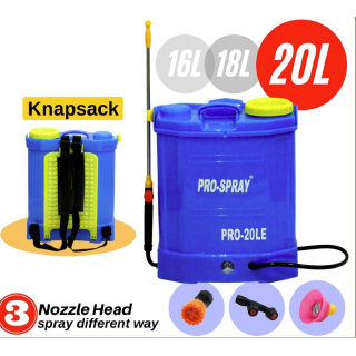 16L Agricultural Knapsack Electric Sprayer Fit 12V//8Ah Battery w// 4x Nozzles hot