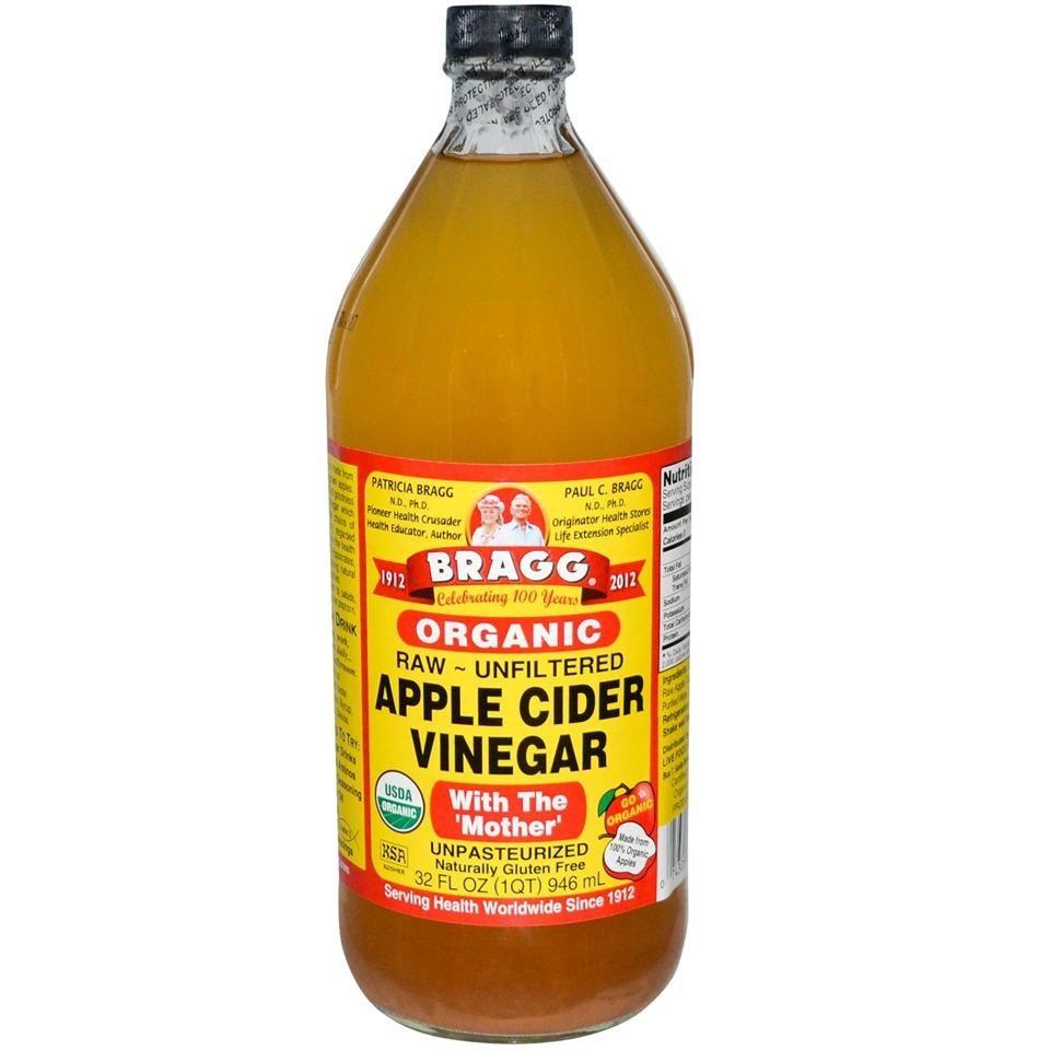 Bragg Organic Apple Cider Vinegar 946ml + FREE GIFT