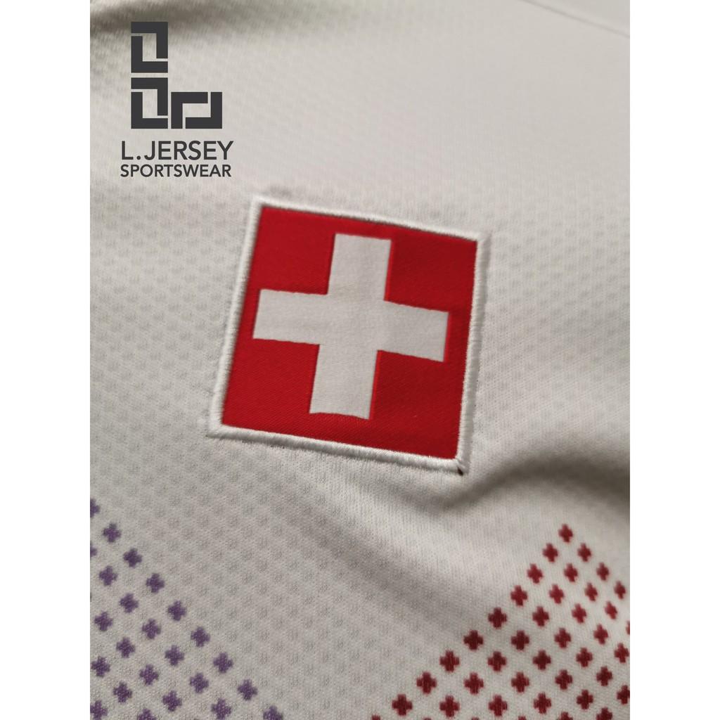 Switzerland Men Away Euro Cup Season 20/21 Fans Jersey
