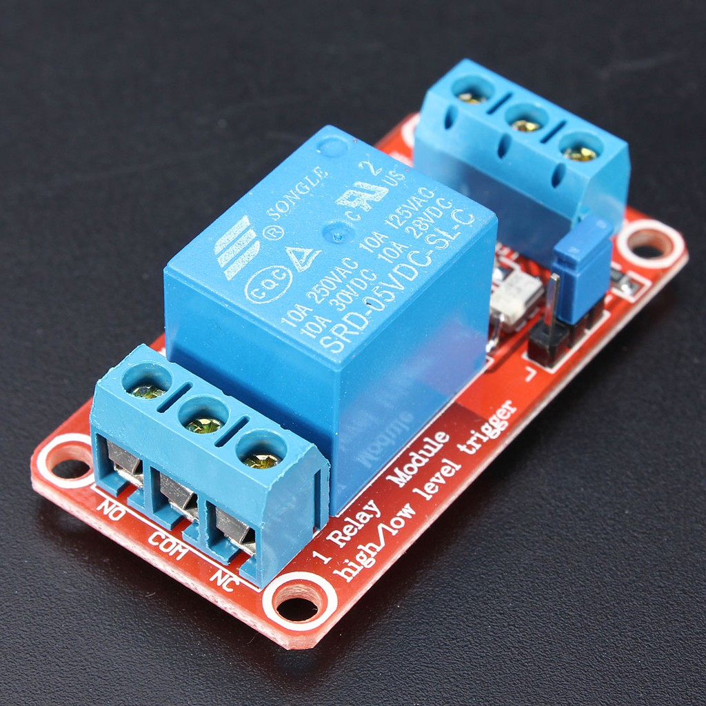 New 5V 1-Channel H/L Level Triger Optocoupler Relay Module for Ardu