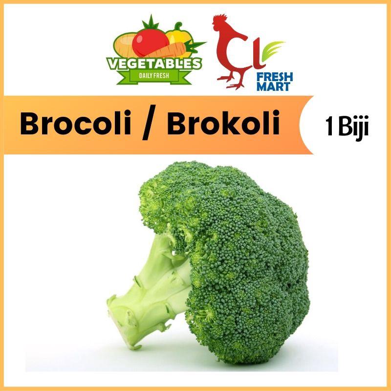 Brocoli / Brokoli BIG Size 1Biji Fresh Vegetable
