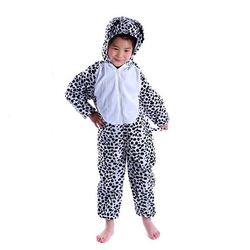 Deluxe Children Leapord Big Head Dress Costume Animal Fairytale Outfit