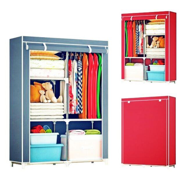 Large Wardrobe with spacious storage and strong steel (Almari besar dan luas)