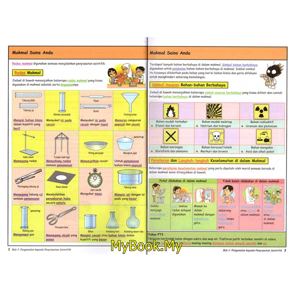 Myb Buku Rujukan Nota Kunci Emas Super Pt3 Tingkatan 1 2 3 Kssm Sains Sasbadi Shopee Malaysia