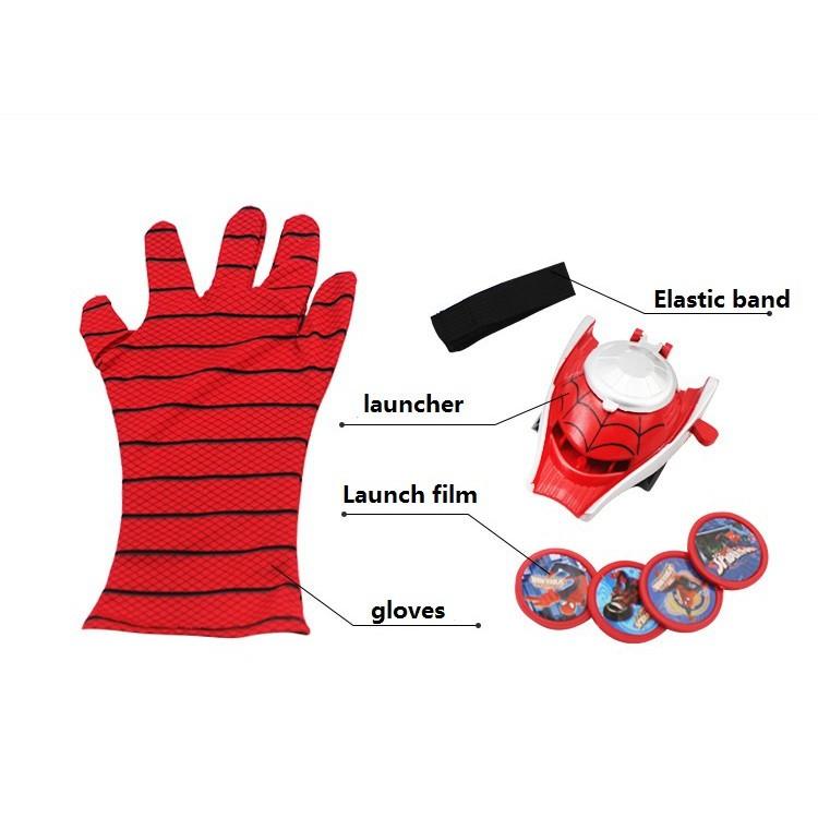 Malaysia seller Kids Boys Avengers Glove Launcher Toy Spiderman Ironman Hulk Captain Batman