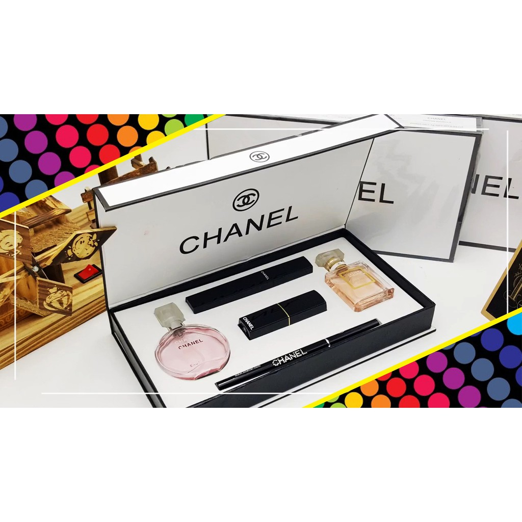 Chanel 5 in 1 Make-up & Perfume Gift Set (LIMITED EDITION)