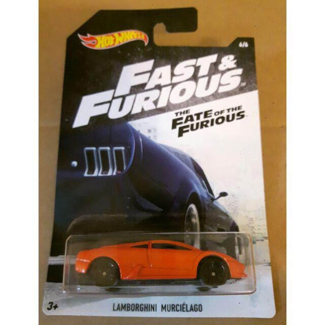 Hot Wheels Fast Furious Lamborghini Murcielago Shopee Malaysia