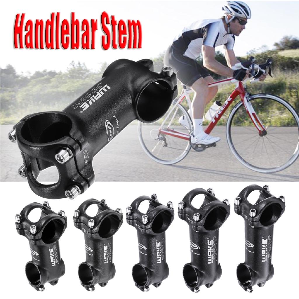 MTB Road Bike Carbon Handlebar Stems Bicycle Stem Bike Stem ±17° 31.8mm*70-110mm