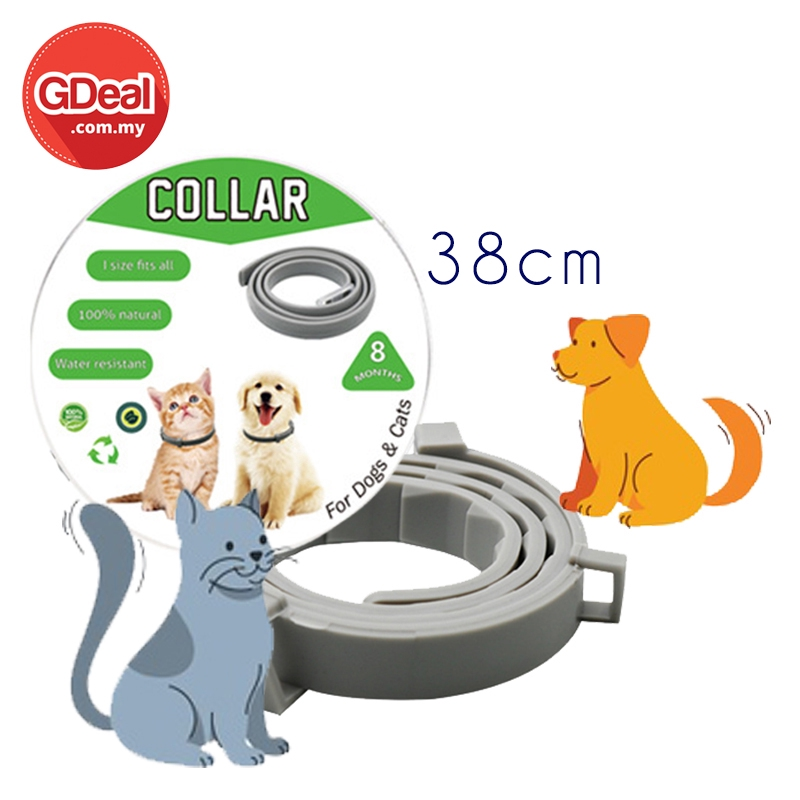 GDeal 38cm Anti-Flea Collar Adjustable Pet Neck Ring For Dog And Cat Anti Tick Mite Louse Harmless Collar