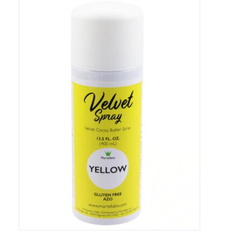 MARTELLATO, Velvet Spray, Yellow, 400 ml