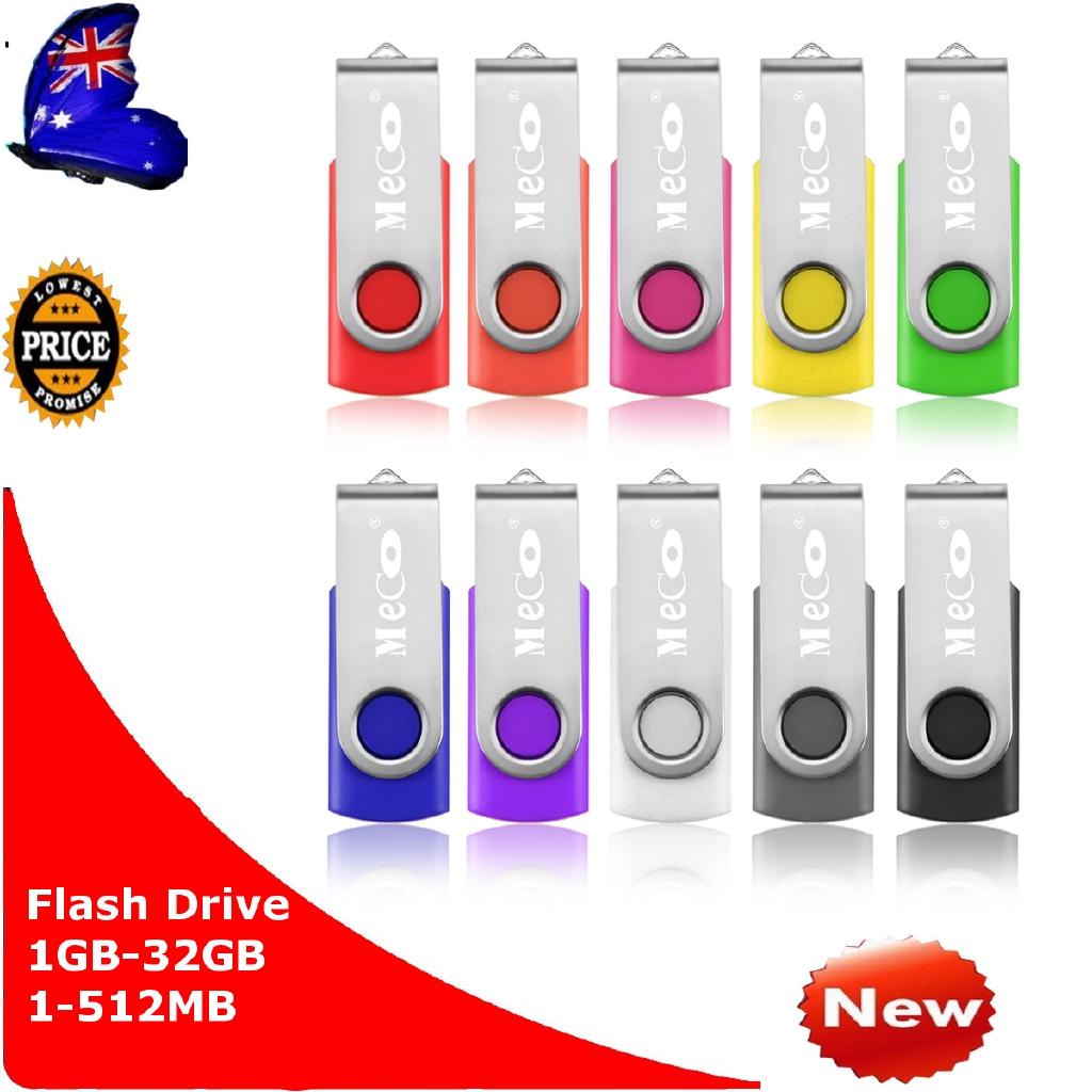 Thumb Pen U Disk Lot MECO 4GB 4G USB 2.0 Flash Memory Drive Stick Storage