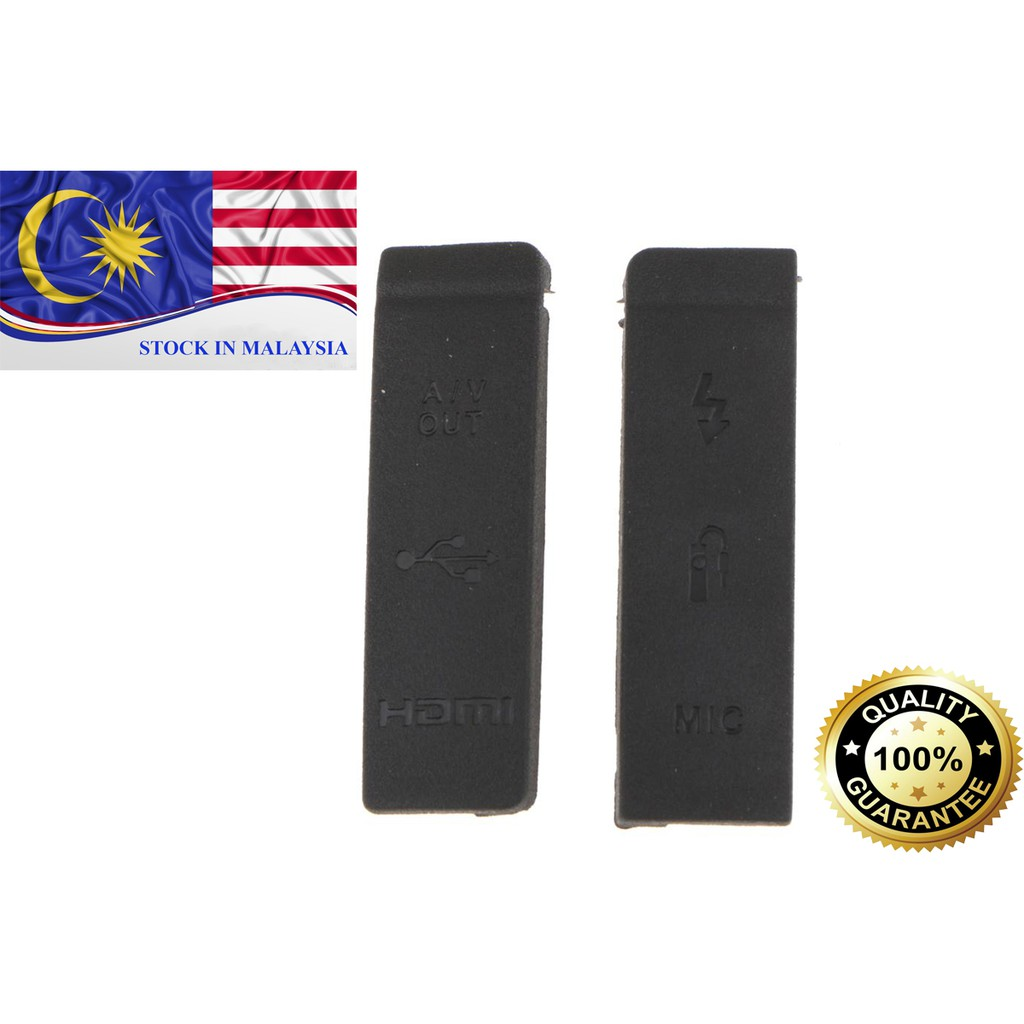 USB / AV OUT/ HDMI/ MIC Rubber Cover For Canon EOS 5D Mark ii (Ready Stock In Malaysia)