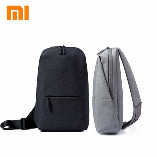 83a3c5afa3d8 Originals xiaomi mi urban backpack leisure bag Chest package Unisex Backpack