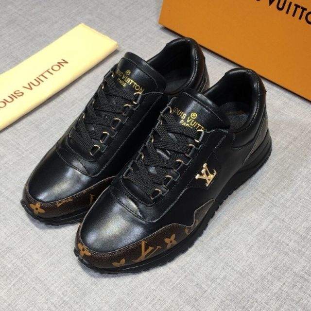 High-end Louis leather men\'s shoes, fashionable stitching shoes, outdoor sports shoes 38-45 EURO