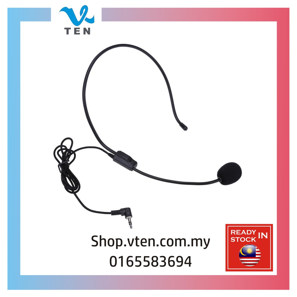 3 5mm Amplifier Headset Wiring Microphone For Loudspeaker 有线 麦克风